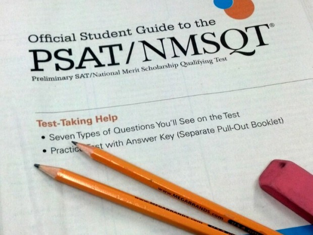 PSAT Scores Math and Reading
