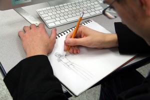 Gavin Wylie sketches.